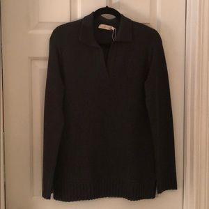 Tory Burch collared vneck sweater